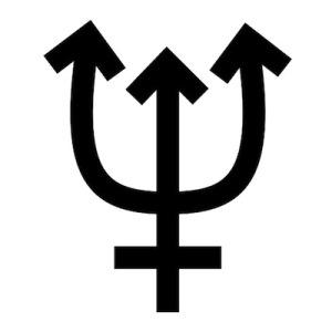 Simbolo Neptuno